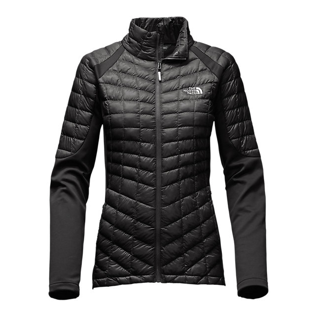 Discount NORTH FACE WOMEN'S MOMENTUM THERMOBALL  HYBRID JACKET BLACK / BLACK ONLINE