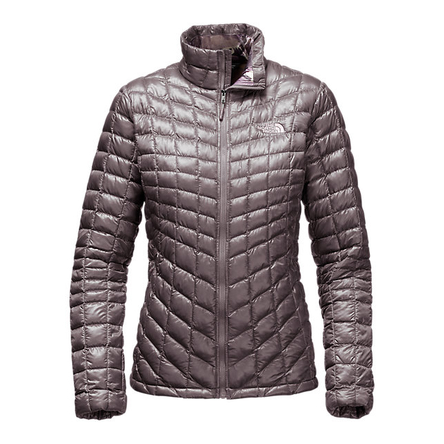 Discount NORTH FACE WOMEN\'S THERMOBALL  FULL ZIP JACKET (EXCLUSIVE COLORS) RABBIT GREY/RABBIT GREY SWASHED PRINT ONLINE