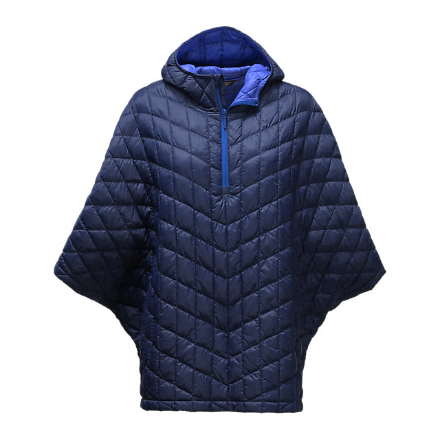 Discount NORTH FACE WOMEN\'S THERMOBALL PONCHO COSMIC BLUE ONLINE