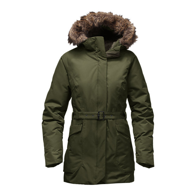 Discount NORTH FACE WOMEN'S CAYSEN PARKA ROSIN GREEN ONLINE