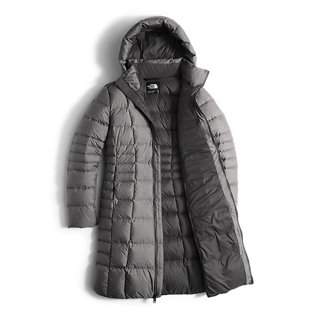 Discount NORTH FACE WOMEN\'S METROPOLIS PARKA II (NEW) MEDIUM GREY HEATHER ONLINE