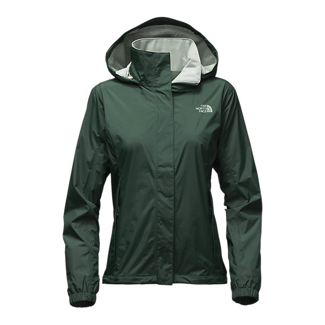 CHEAP NORTH FACE WOMEN'S RESOLVE JACKET DARKEST SPRUCE ONLINE