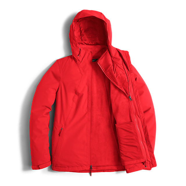 Discount NORTH FACE WOMEN\'S HIGHANDDRY TRICLIMATE JACKET HIGH RISK RED ONLINE