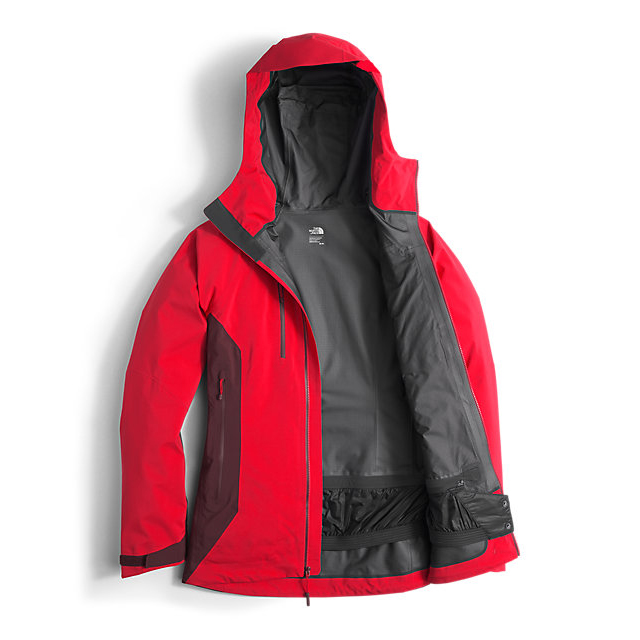 Discount NORTH FACE WOMEN\'S DIHEDRAL SHELL JACKET HIGH RISK RED/DEEP GARNET RED ONLINE