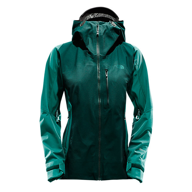 Discount NORTH FACE WOMEN'S L5 GORE-TEX SHELL BLACK/CONIFER TEAL JACQUARD ONLINE