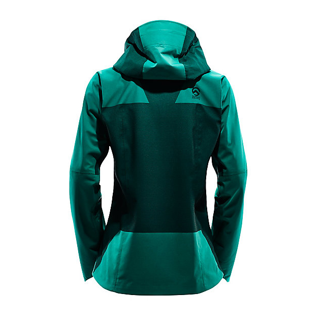 Discount NORTH FACE WOMEN\'S L5 GORE-TEX SHELL BLACK/CONIFER TEAL JACQUARD ONLINE