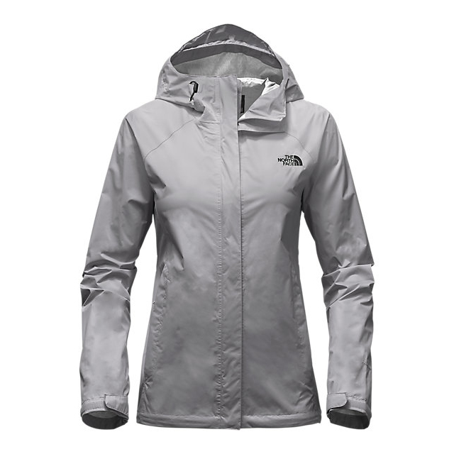 CHEAP NORTH FACE WOMEN'S VENTURE JACKET MID GREY/BLACK ONLINE