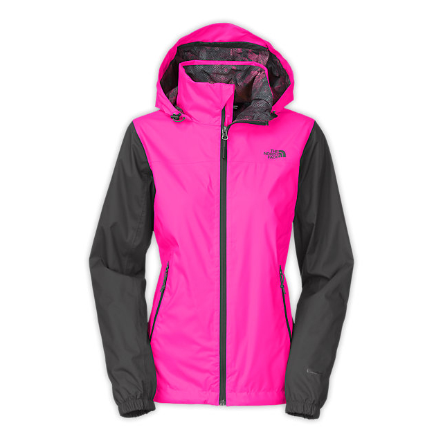 CHEAP NORTH FACE WOMEN'S RESOLVE PLUS JACKET GLO PINK/ASPHALT GREY ONLINE