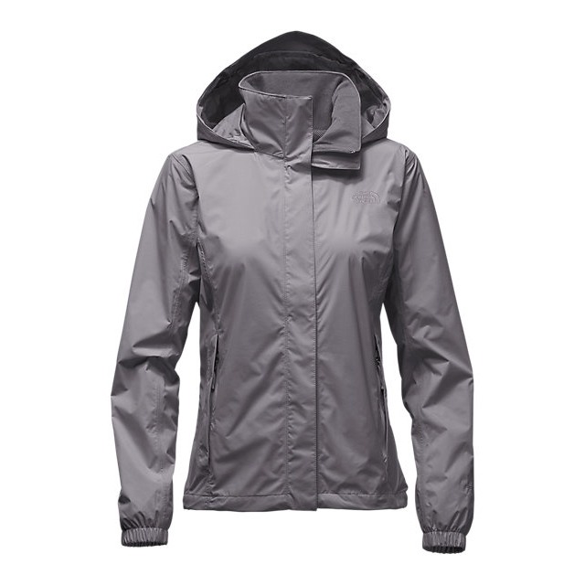 CHEAP NORTH FACE WOMEN'S RESOLVE JACKET RABBIT GREY ONLINE