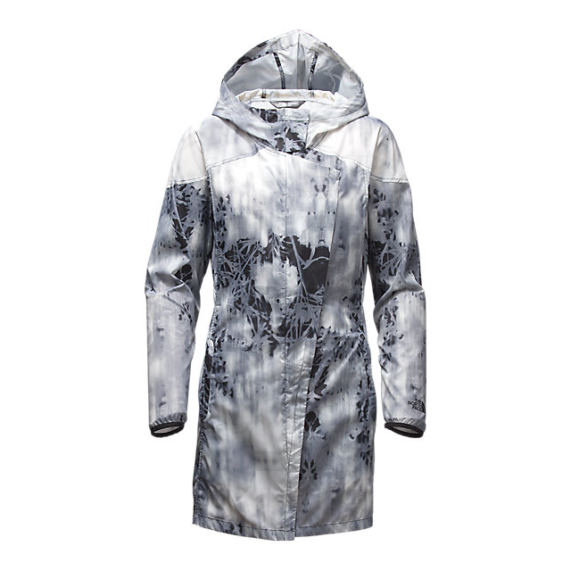 Discount NORTH FACE WOMEN\'S GYMSET TRENCH JACKET BLACK PHOTO FLORAL PRINT ONLINE