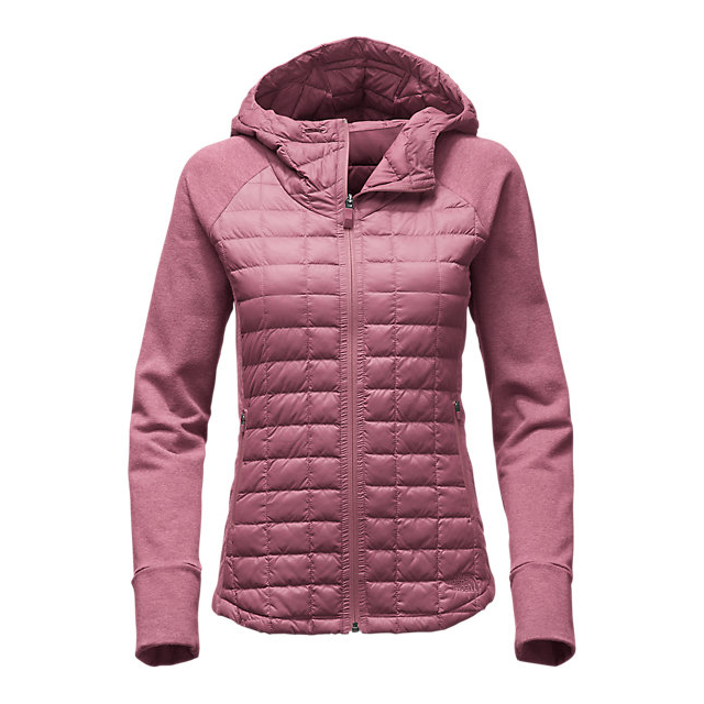 CHEAP NORTH FACE WOMEN'S ENDEAVOR THERMOBALL  JACKET RENAISSANCE ROSE/RENAISSANCE ROSE DARK HEATHER (STD) ONLINE