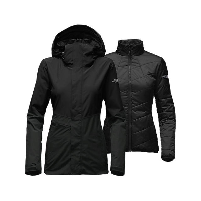 Discount NORTH FACE WOMEN'S GARNER TRICLIMATE JACKET BLACK ONLINE