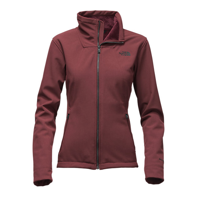 Discount NORTH FACE WOMEN'S APEX CHROMIUM THERMAL JACKET DEEP GARNET RED HEATHER ONLINE