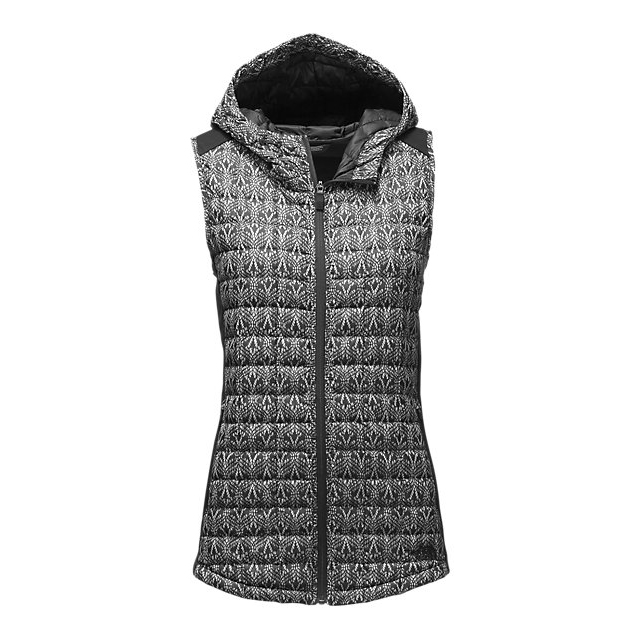 Discount NORTH FACE WOMEN'S MA THERMOBALL™ VEST BLACK LACE PRINT ONLINE